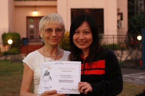 2008年第三屆動物傳心術證書課程