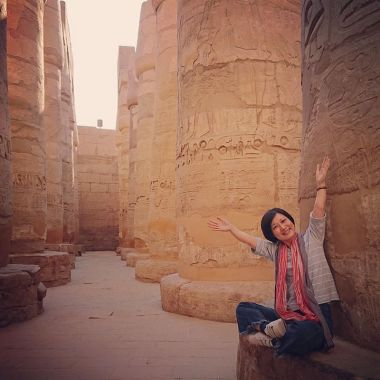SamanthaYu-at-Egypt