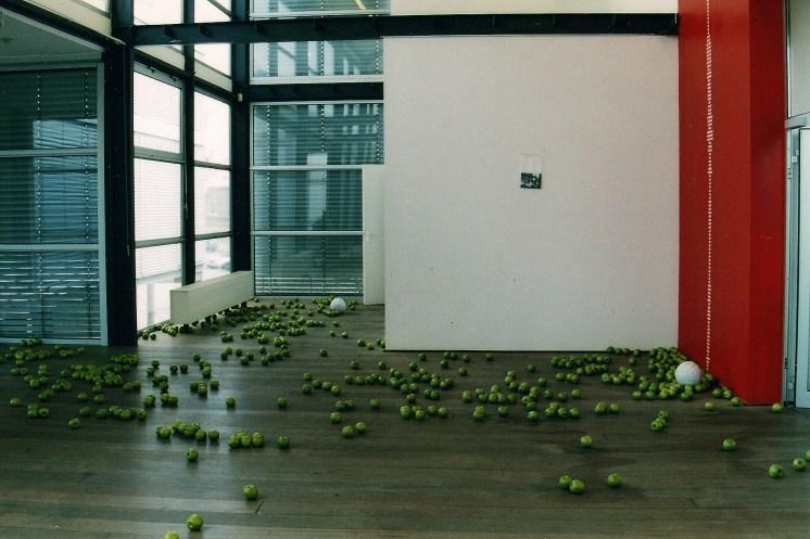 The Fall of Man (Bookworm), installation view, Museum Depaviljoens, Almere, Holland 2003