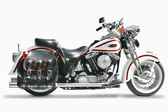"""3"""" rolled edge for softail"""