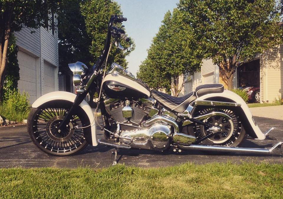 Ryan Casper's Cholo'd out Softail