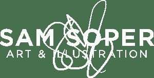 Sam Soper: Art & Illustration Logo