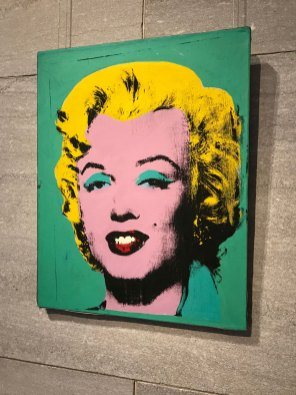 Love me some Warhol. Green Marilyn by Andy Warhol