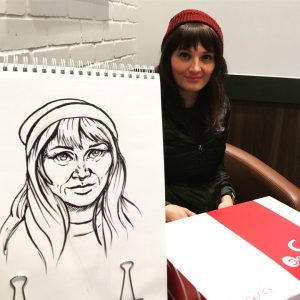 Liz Caricature