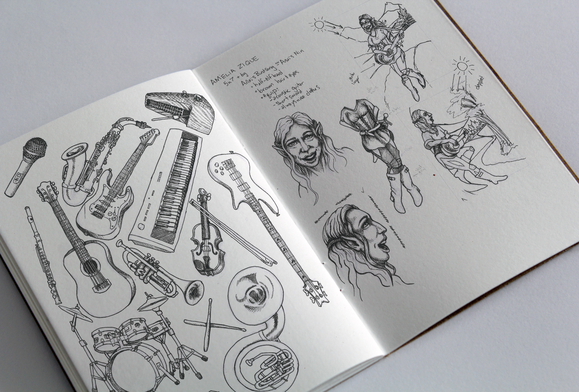 Sketchbook Concepts