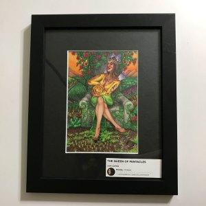 Queen of Pentacles Krystalline Tarot Original