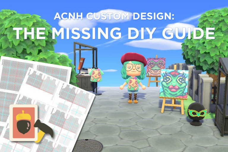 Animal Crossing: New Horizons Custom Design — The Missing DIY Guide