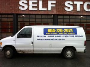 Small Moves Junk Removal | East Vancouver Mover | Junk Removal Taxi | Trash Removal Taxi