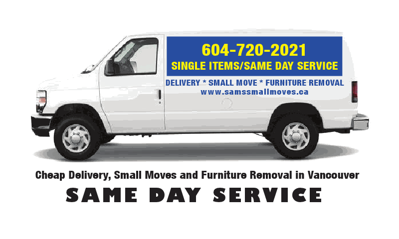 Affordable Small Moves Delivery And Junk Removal Sam 39 S Small Moves Ltd Cheap Delivery Small