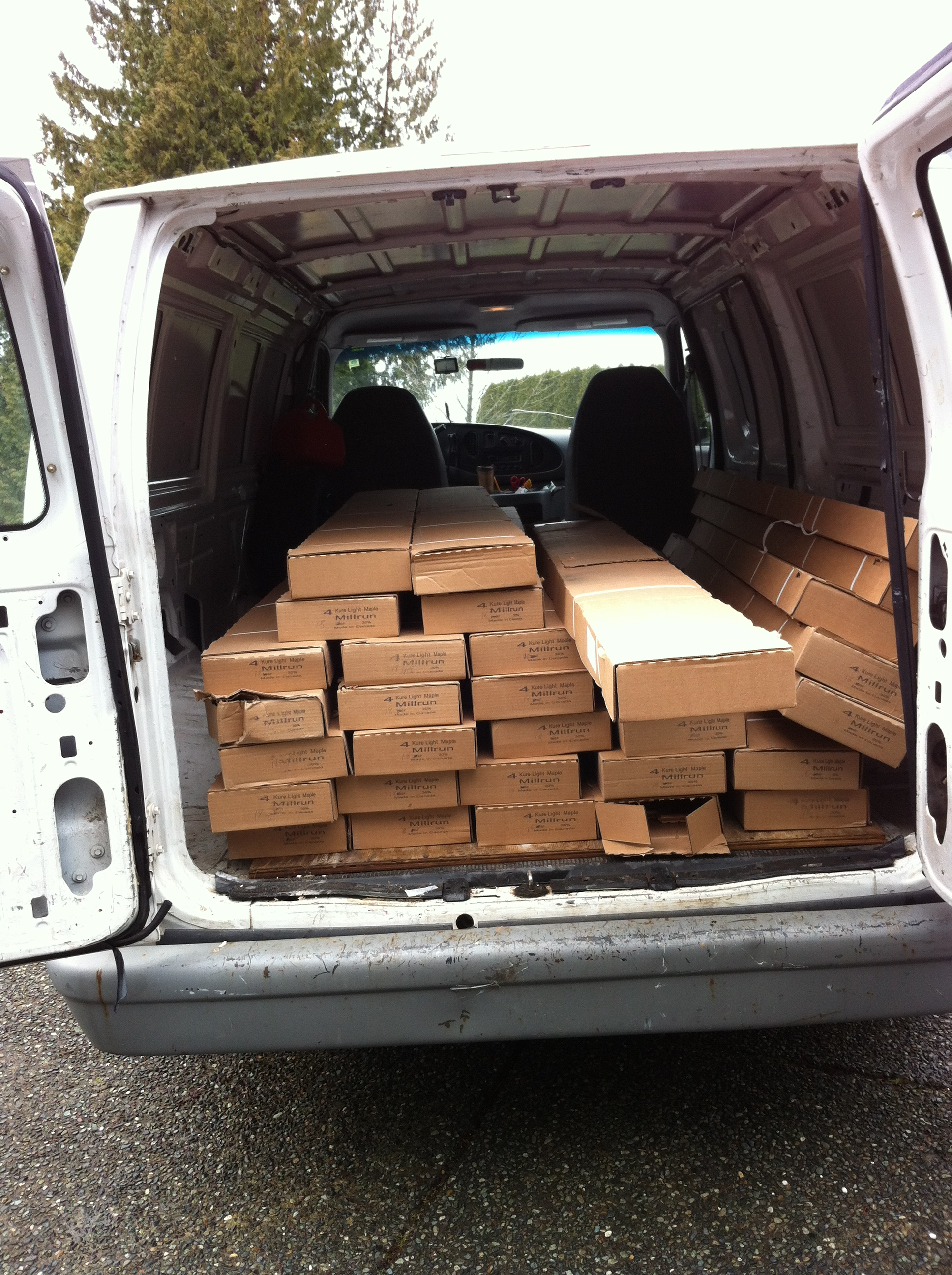 Hardwood Flooring Pick Up Amp Delivery Sam S Small Moves