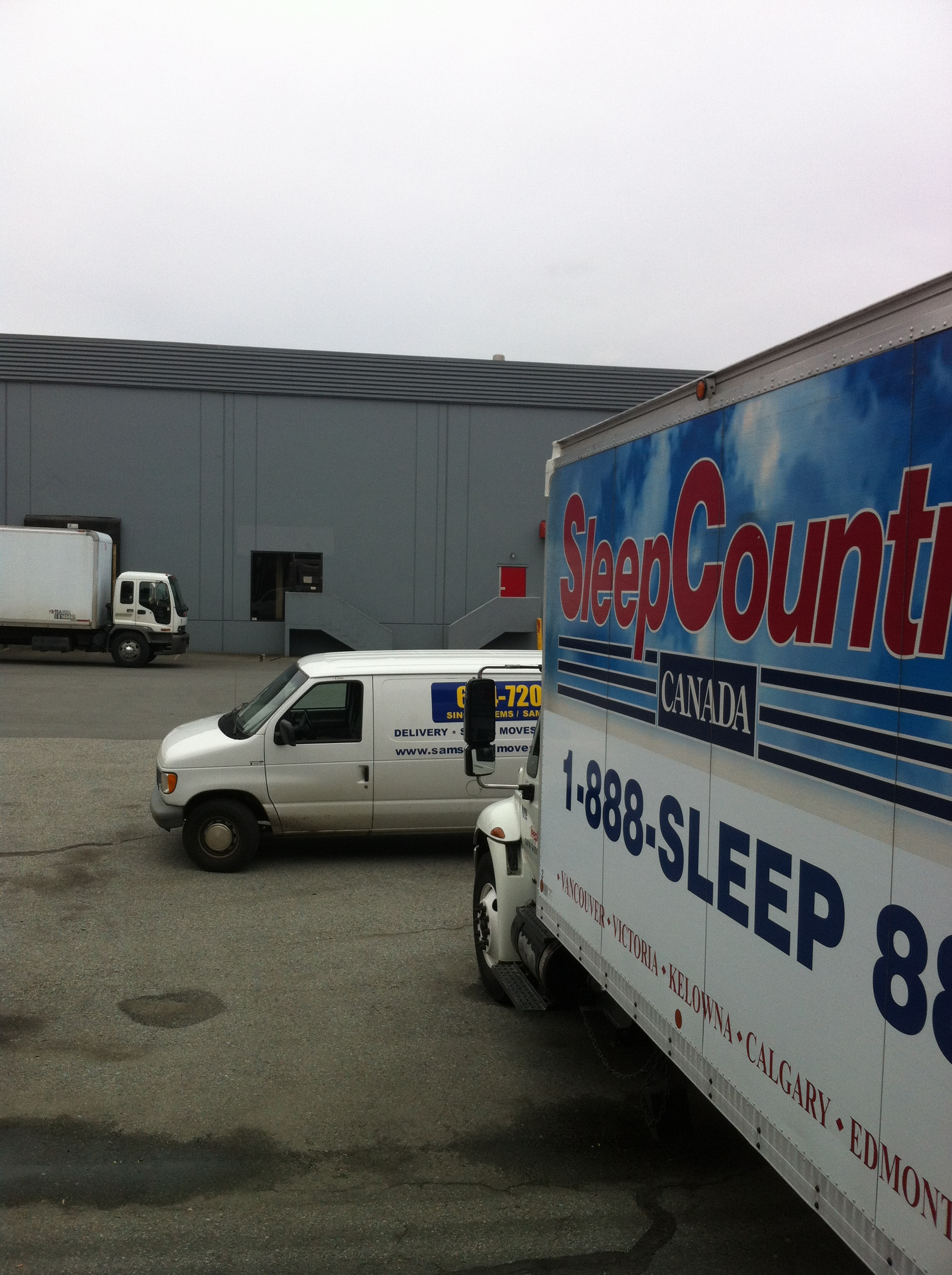 Sleep Country Vancouver Pick Up And Delivery Service