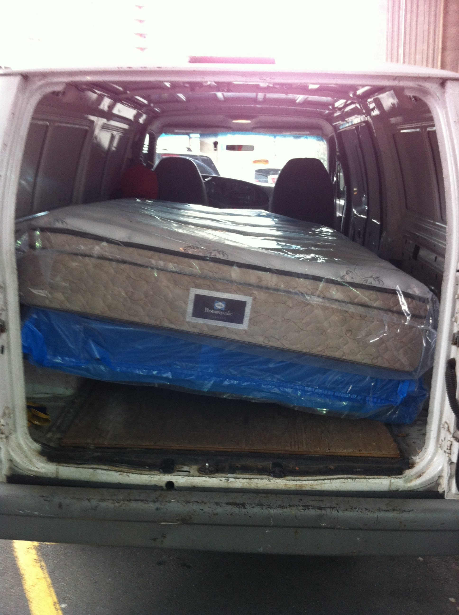 Downtown Vancouver Costco Queen Mattress And Box Spring Pickup