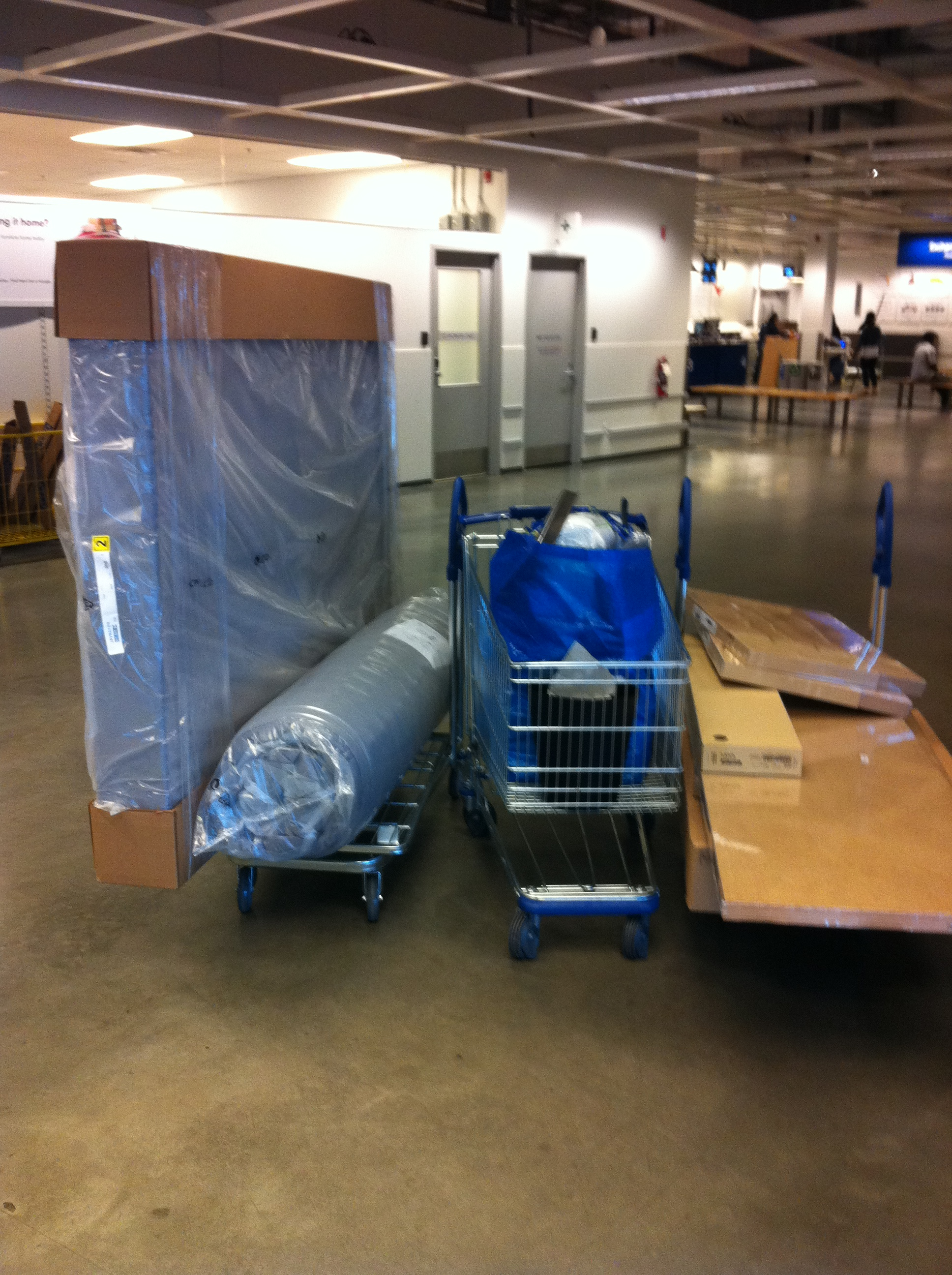Ikea furniture delivery service ikea richmond for Does ikea deliver same day