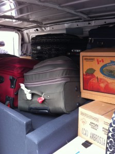 Boxes Bundles Trunks and Luggage -- Small Moves for Students, new Immigrants in Vancouver
