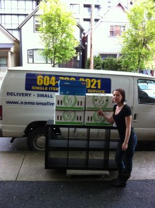 Happy, Satisfied Customer -- Small Move, Quick Efficient Service!