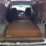 Moe's Home Collection - Futon delivery van