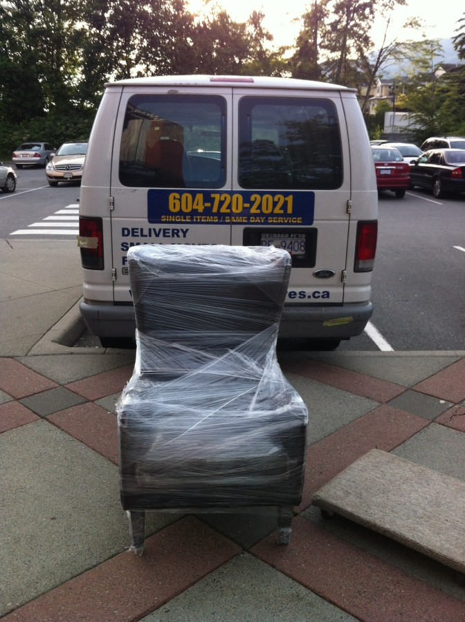 Furniture Delivery Services | Furniture Couriers Vancouver | Armchair Delivery