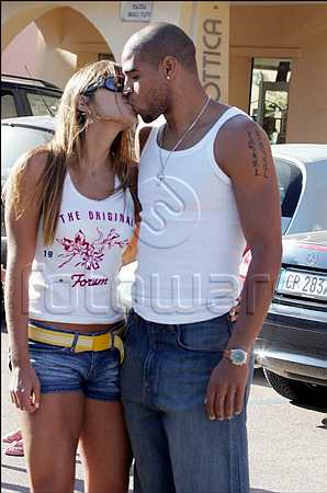 Another picture of Adriano and his girl friend