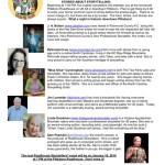 Roadhouse Storytellers telling Stories about storytelling November 14th