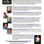 Roadhouse Storytelling Nov 2019 show features five master storytellers including Gale Buck and Alan Hoal at the Pittsboro Roadhouse