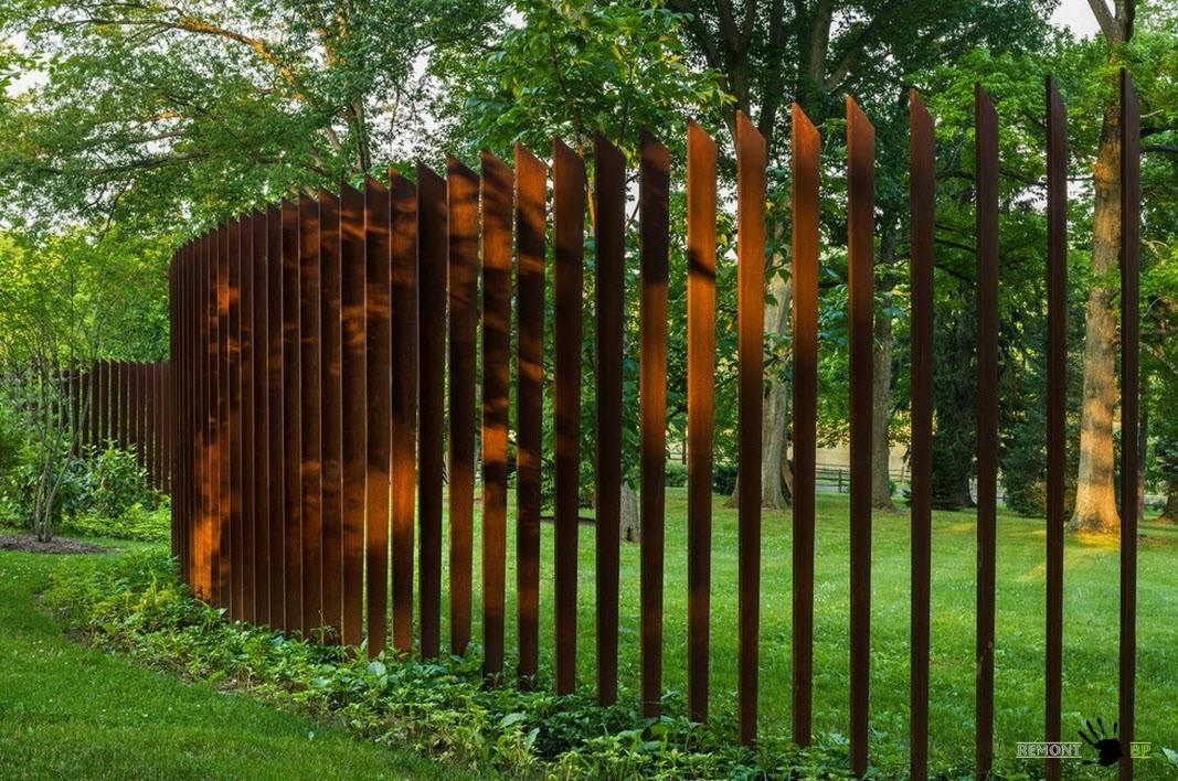 Der aufbau einer schönen zaun   samstroy   konstruktion, design ...