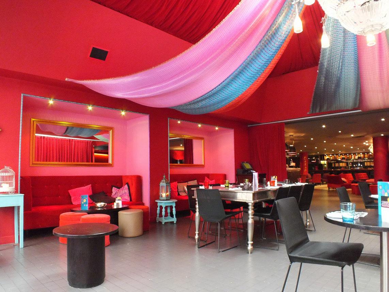 for Restaurant interior color schemes