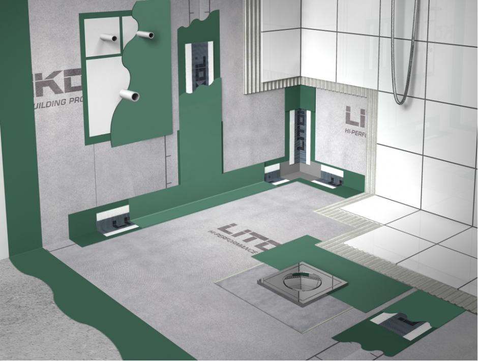 Гидроизоляция ванной комнаты финскими материалы гидроизоляция глиняный замок технология устройства
