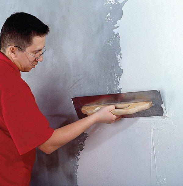 Шпаклевка стен своими руками масляно клеевой шпаклевкой 9 9 Строительный портал