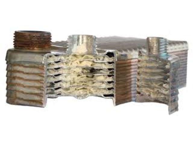 Отложения на теплообменнике купить теплообменник для газового котла beretta 24 csi