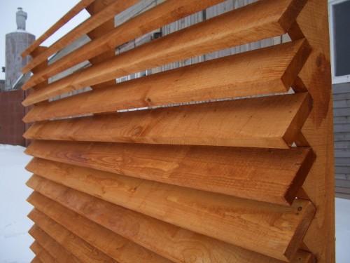 Деревянный забор-жалюзи своими руками 6 41 Строительный портал