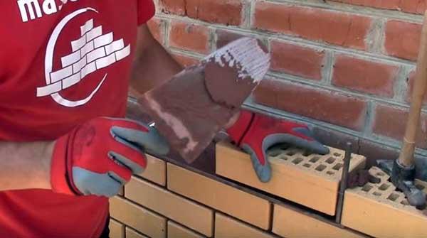 Как правильно класть облицовочный кирпич под расшивку 2 58 Строительный портал