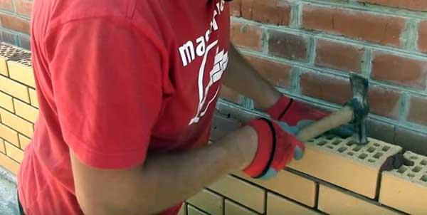 Как правильно класть облицовочный кирпич под расшивку 3 43 Строительный портал
