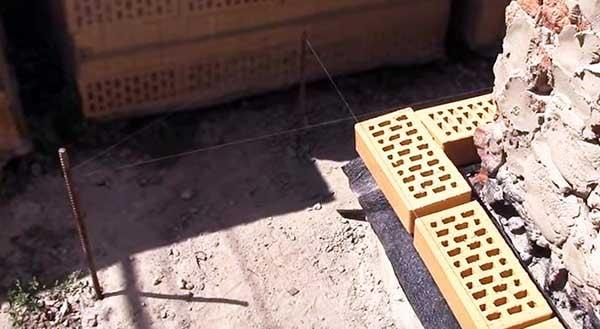 Как правильно класть облицовочный кирпич под расшивку 9 12 Строительный портал