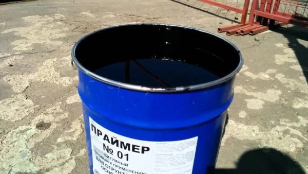 Материалы для разбавления битумной мастики для фундамента, крыши, гидроизоляции 8 37 Строительный портал