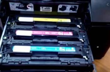 Replacing Toner for HP Laserjet 200