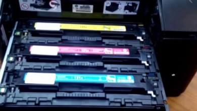 Replacing Toner for HP Laserjet 200