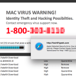 MAC Virus Warning