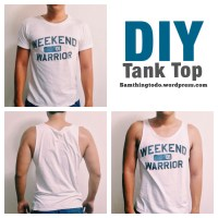 DIY Tank Top (The Douche Edition)
