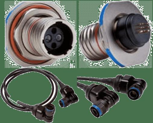 MOOG Fiber Optic connectors