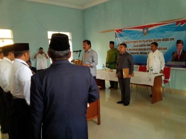 Gubernur Kepri Lantik PNS Cabang DKP Anambas, SamuderaKepri