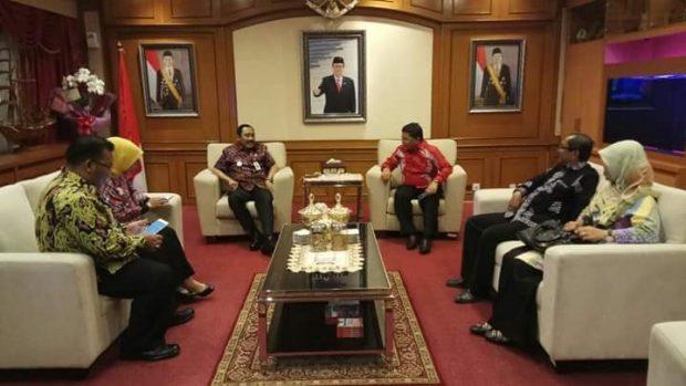 , Audiensi dan Koordinasi Seleksi Praja IPDN Asal Kabupaten Kepulauan Anambas, SamuderaKepri
