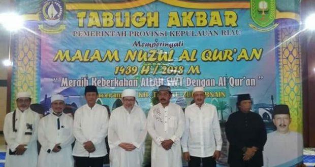 , Peringatan Malam Nuzul Qur'an Di Natuna, SamuderaKepri