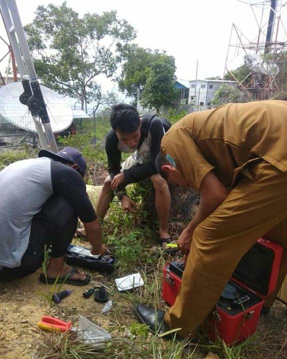 Diskominfotik KKA Lakukan Sejumlah Persiapan Untuk Sukseskan video conference Bupati Kepulauan Anambas