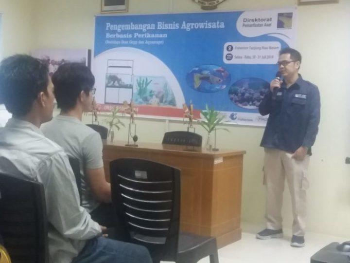 BP Batam Gelar Pelatihan Budidaya Ikan Guppy dan Aquascape, SamuderaKepri