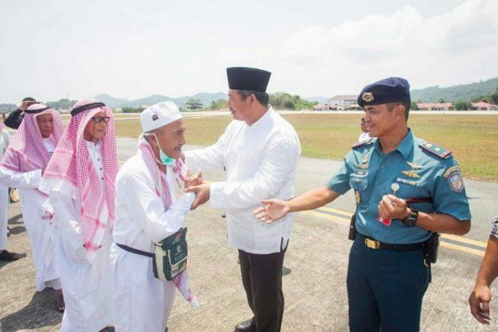 Pemerintah Kabupaten Kepulauan Anambas Sambut kepulangan Jemaah Haji