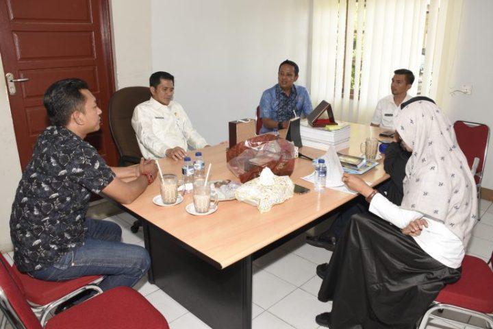 DPRD Kabupaten Natuna Dikunjungi Kepala Bagian Protokol DPRD Kota Bandung