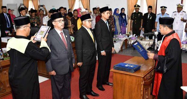 , Pelantikan Pimpinan Definitif DPRD Natuna Periode 2019-2024, SamuderaKepri