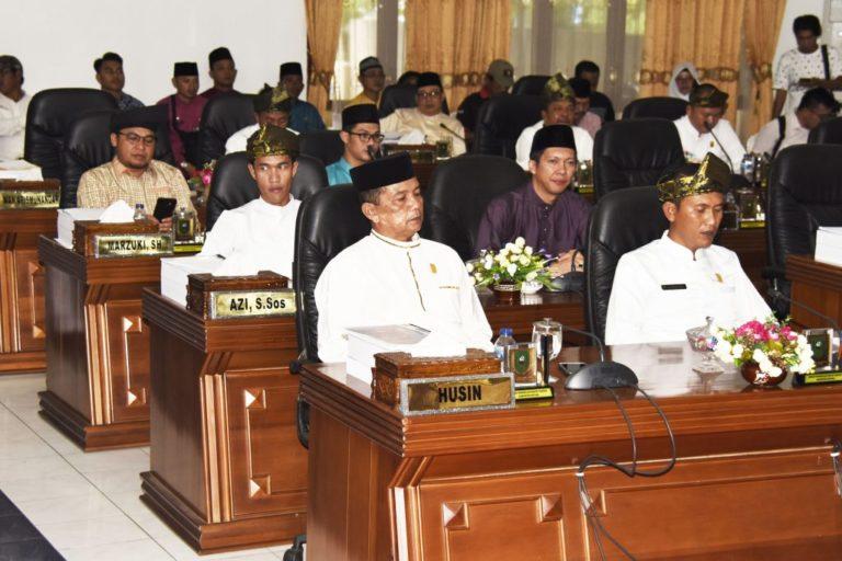 Rapat Paripurna DPRD Kabupaten Natuna Dalam Rangka HUT Kabupaten Natuna ke 20