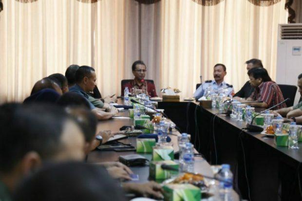Ketua DPRD Provinsi Kepulauan Riau Menerima Kunjungan (KKDN) Pasis Dikreg XLVI