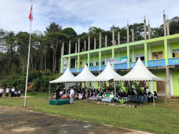 , Upacara Bendera Dalam Rangka Memperingati Hari Santri Nasional 2019 di Anambas, SamuderaKepri